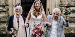 Đám cưới thời đại dịch, cô dâu chọn bà nội, bà ngoại làm phù dâu